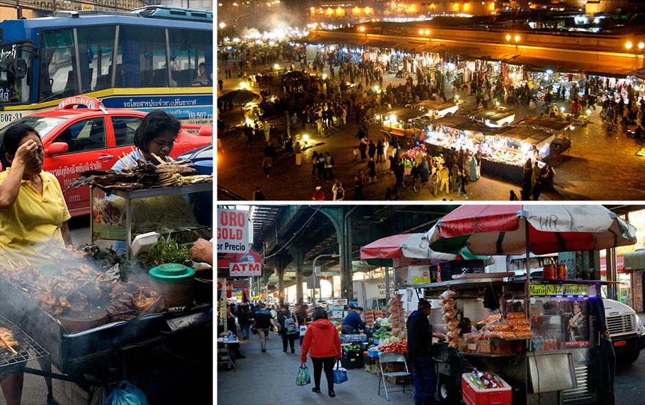 Fotos conoce las once ciudades del mundo con la mejor for Comida mas famosa de francia