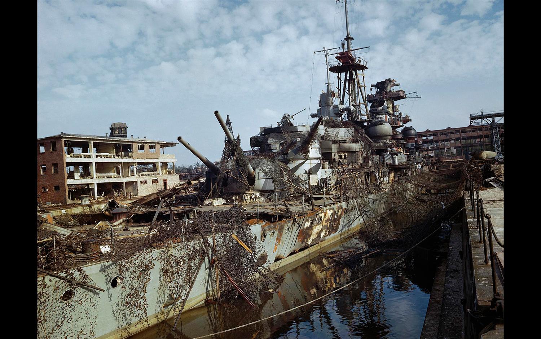 Difunden Fotos Inéditas Y A Color De La Segunda Guerra